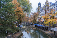 Autumncolors in Utrecht Stock Photography