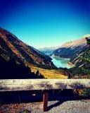 Autumnday en el Tirol Imagenes de archivo