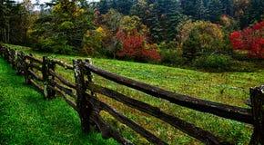 Autumng season in the smoky mountains Stock Photo