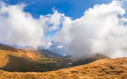 autumnlandscape kolorowy Obraz Stock