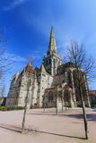 Autun大教堂  免版税库存照片