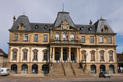 Autun city hall. Building on the Champ-de-Mars place Stock Images