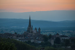 Autun Royalty Free Stock Photos