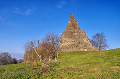 Autun Pyramid de Couhard. Autun in France, Pyramid de Couhard Stock Photography