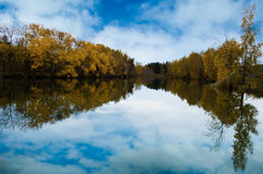 Autunm Lake Royalty Free Stock Photography