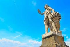 Autunno雕象在佛罗伦萨 免版税图库摄影