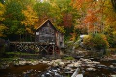 autunno ad ovest di viginia fotografie stock