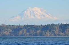 Autunno al monte Rainier immagini stock libere da diritti