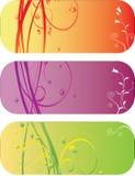 Autunno astratto della sorgente del fiore dell'illustrazione del fiore Fotografia Stock Libera da Diritti