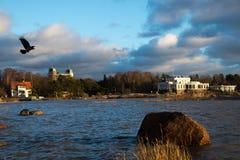 Autunno in Baltico Fotografie Stock Libere da Diritti
