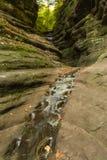 Autunno in canyon francese, Fotografie Stock Libere da Diritti