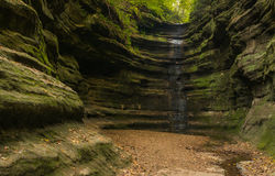 Autunno in canyon francese, Immagini Stock