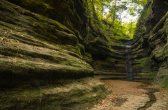 Autunno in canyon francese, Immagine Stock