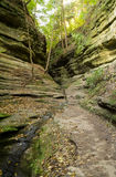 Autunno in canyon francese, Immagini Stock Libere da Diritti
