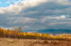 autunno carpathians fotografia stock