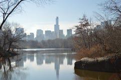 Autunno in Central Park New York Immagini Stock Libere da Diritti