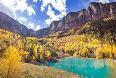 Autunno in Colorado fotografia stock libera da diritti