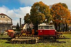 Autunno della ferrovia Fotografia Stock Libera da Diritti