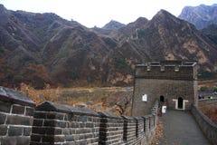 Autunno della grande muraglia Fotografia Stock Libera da Diritti