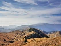 Autunno della montagna fotografie stock libere da diritti