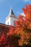Autunno della Nuova Inghilterra a Georgetown Fotografia Stock