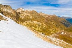 Autunno di giorno della montagna Immagine Stock Libera da Diritti