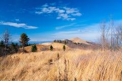 Autunno di giorno della montagna Fotografia Stock Libera da Diritti