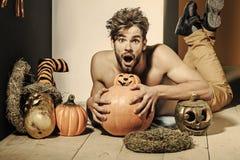 Autunno di Halloween e stagione del raccolto immagini stock