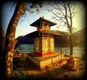 Autunno di infinito nepal Immagine Stock