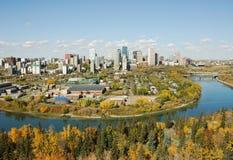 Autunno Edmonton Immagini Stock