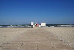 Autunno gentile alla spiaggia Fotografia Stock