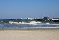 Autunno gentile alla spiaggia Fotografia Stock Libera da Diritti