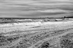 in autunno il mare. Fotografia Stock