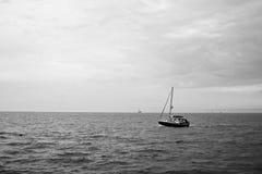 in autunno il mare. Immagini Stock