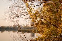 Autunno a Kiev Fotografie Stock