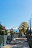 Autunno in montagna svizzera Wetterhorn della priorità bassa di Alps Immagine Stock