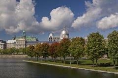 Autunno a Montreal Fotografie Stock Libere da Diritti