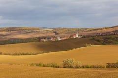 Autunno in Moravia fotografie stock libere da diritti