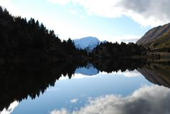 Autunno nei pyrenees Fotografia Stock Libera da Diritti