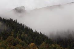 Autunno nel Caucaso Fotografie Stock