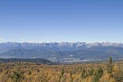 Autunno nel Tirolo del sud Fotografia Stock Libera da Diritti