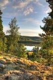 Autunno nordico Fotografia Stock