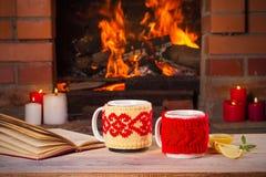 Autunno o concetto di vacanze invernali Immagine Stock Libera da Diritti