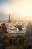 Autunno a Parigi Immagine Stock