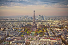 Autunno a Parigi Fotografia Stock