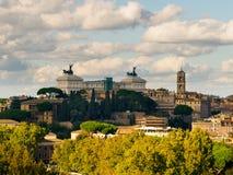Autunno a Roma Fotografia Stock