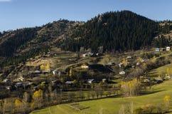 Autunno (4 stagione Kars) fotografie stock