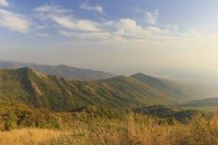 autunno sul passaggio di Ahsu l'azerbaijan fotografie stock