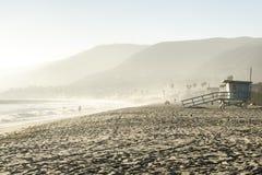 Autunno sulla spiaggia di Malibu, California Fotografia Stock Libera da Diritti