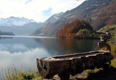 Autunno in Svizzera Fotografia Stock Libera da Diritti